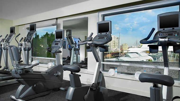 Four Points By Sheraton Sydney Facilities 24hr Fitness Center