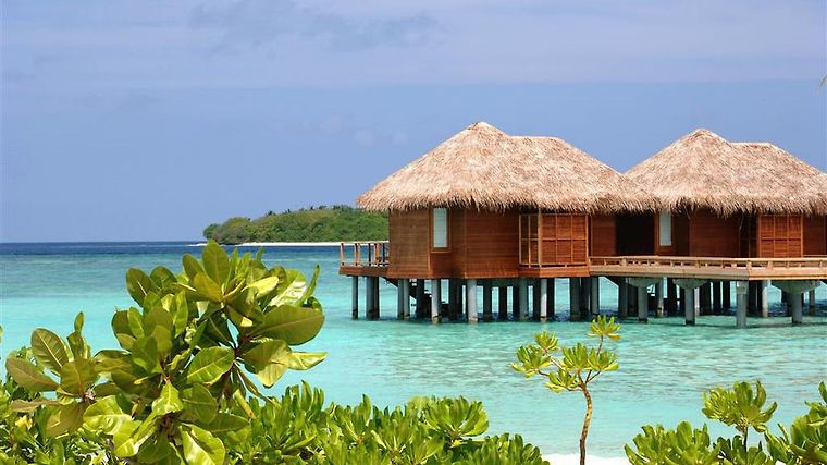 Sheraton Maldives Full Moon Resort & Spa Exterior Water Bungalow, Exterior