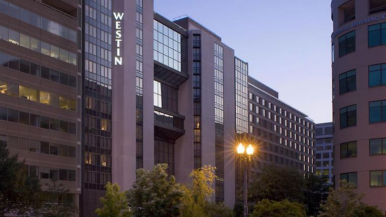 The Westin Washington, D.C. City Center Exterior Dusk Exterior