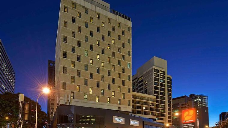 Pullman Brisbane King George Square Exterior